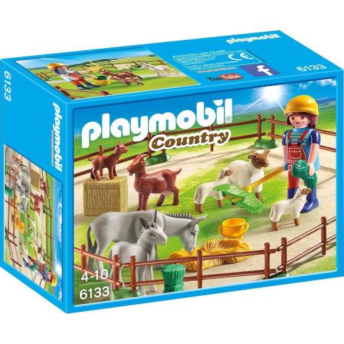 Animales de granja con granjero de Playmobil