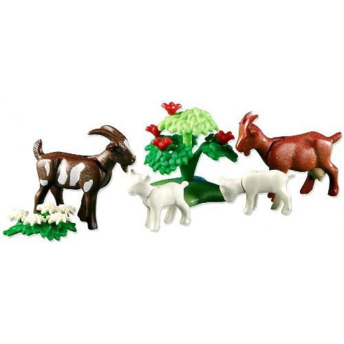 Cabras con cabritos de Playmobil