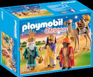 Caja de Playmobil de los Reyes Magos (9497)
