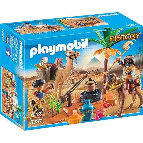 Campamento egipcio de Playmobil