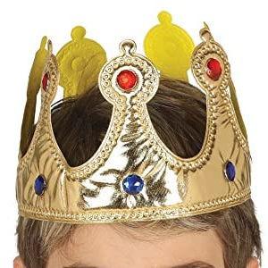 Corona de Reyes Magos de tela