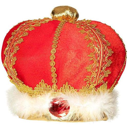 Corona roja de Rey Mago