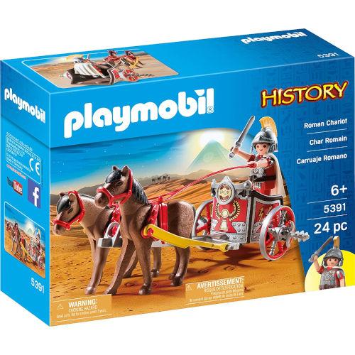 Cuadriga romana de Playmobil