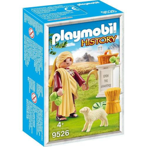 Deméter, diosa griega de la agricultura, de Playmobil