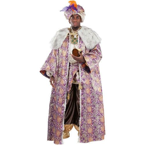 Disfraz de lujo de Rey Mago Baltasar