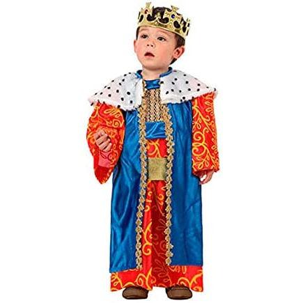Traje de Rey Mago de color azul para bebé