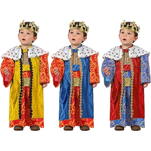 Disfraces de Reyes Magos multicolor