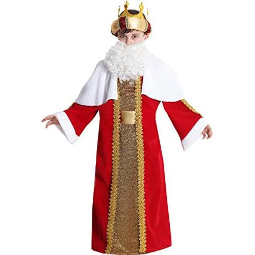Disfraz de Rey Melchor para Niño (Pegasus)