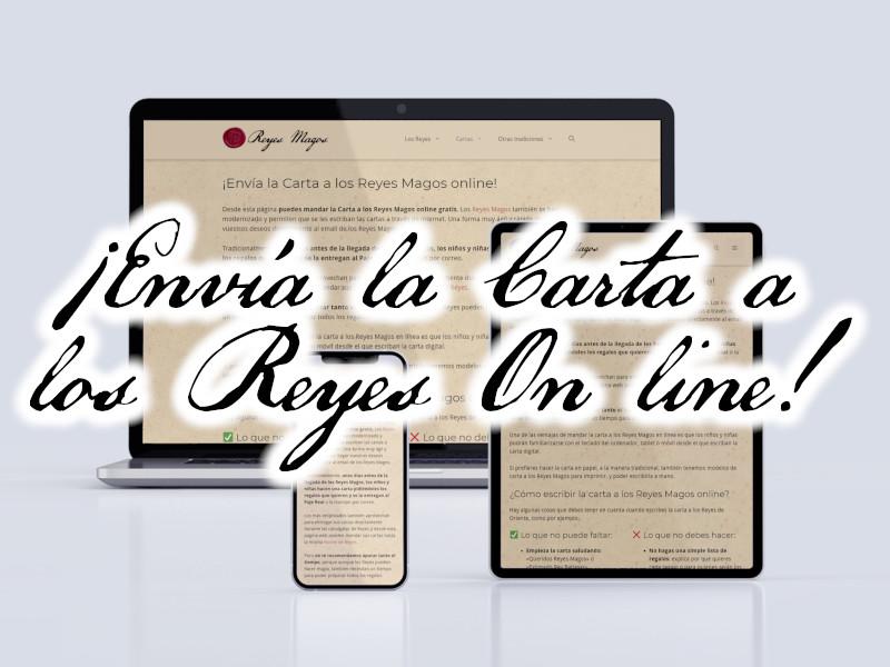 Envía la carta a los Reyes Magos on line