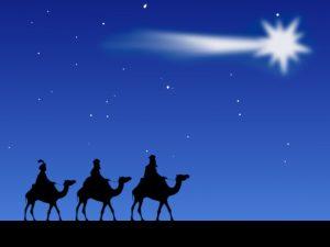 La Estrella de Belén guio a los Reyes Magos