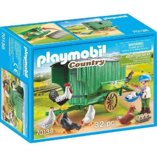 Gallinero de Playmobil