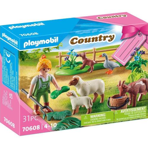 Granja de animales de pasto Playmobil