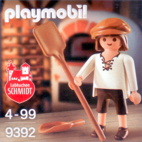 Panadero de juguete de Playmobil