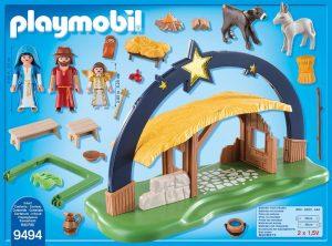 Piezas del Belén de Playmobil