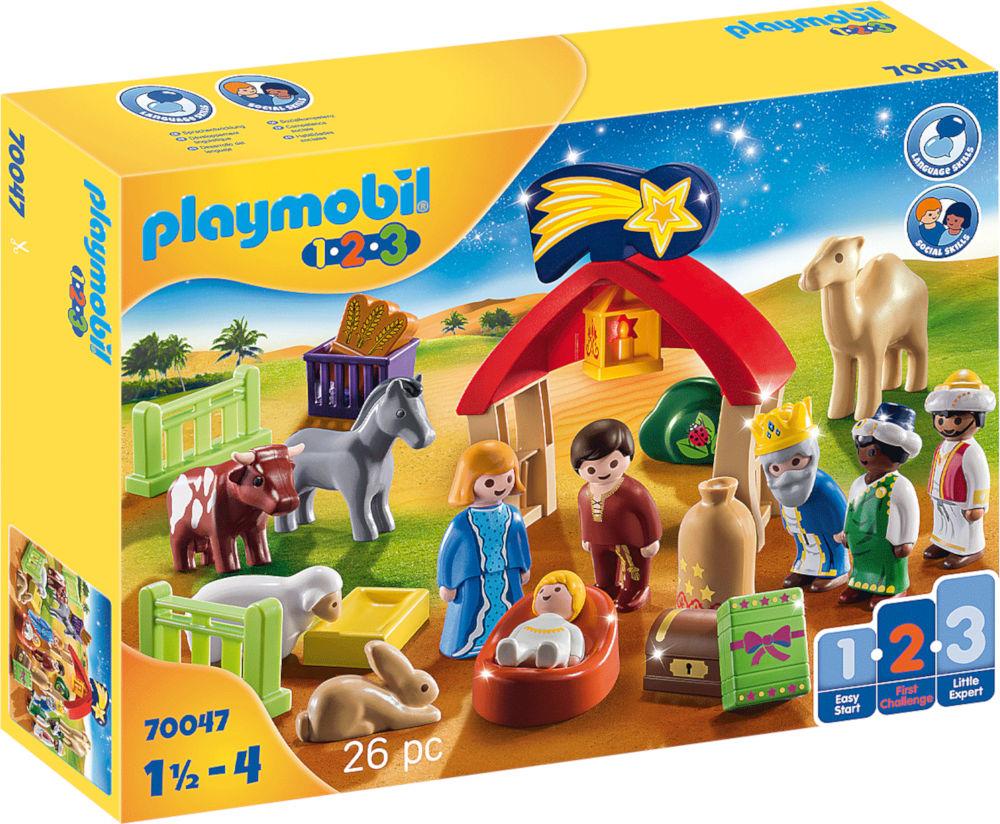 Mi Primer Belén de Playmobil 1.2.3