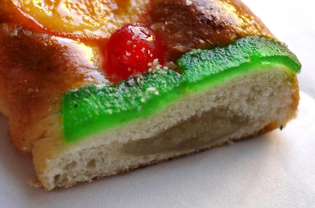 Trozo de Roscón de Reyes